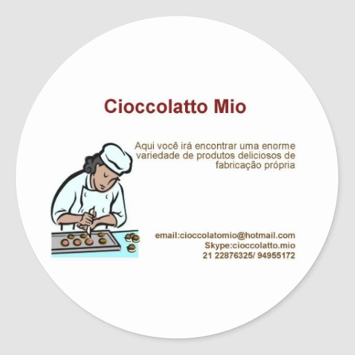 Cioccolatto Mio Sticker