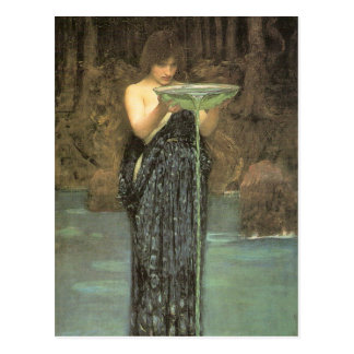 Circe Invidiosa - John William Waterhouse Postcard