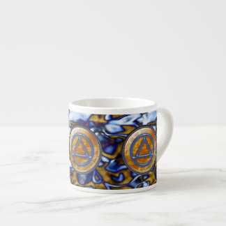 Circle and Triangle Sober Recovery ESPRESSO CUP