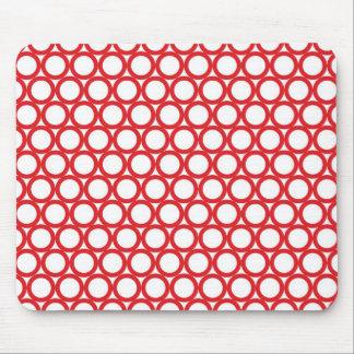 Circle Digital Art Beautiful Design Style Fashion Mouse Pad