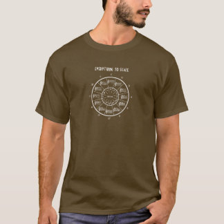 Circle of Fifths for Everything to Scale T-Shirt