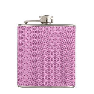 Circle Pattern custom flask