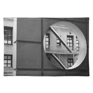 Circle With Fire Escape Placemat