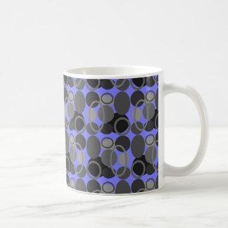 Circles and Ovals Purple Mug