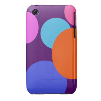 Circles iPhone 3 Cover