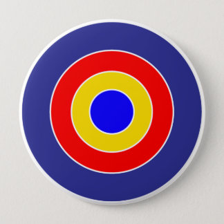 Circles design colorful button