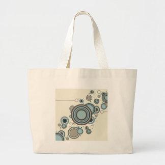 Circles Streaming Large Tote Bag