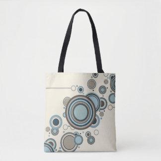 Circles Streaming Tote Bag