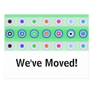 Circles - We've Moved! Postcard
