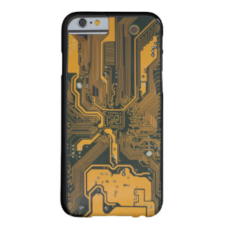 Circuit Board Barely There iPhone 6 Case