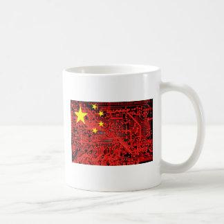 circuit board Flag (China) Coffee Mug