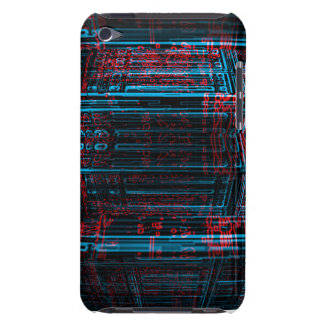 Circuit board graphic Case-Mate iPod touch case