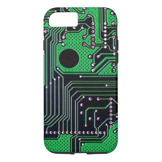 Circuit board (pcb) - green colour iPhone 7 case