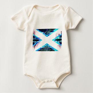 circuit board scotland (Flag) Baby Bodysuit