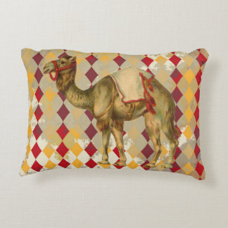 CIRCUS CAMEL VINTAGE PILLOW ACCENT CUSHION