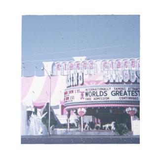 Circus Circus Las Vegas Notepad