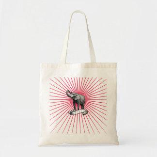 Circus Elephant Tote Budget Tote Bag