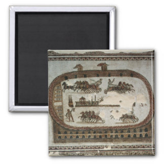 Circus Games, from Carthage, Roman Square Magnet