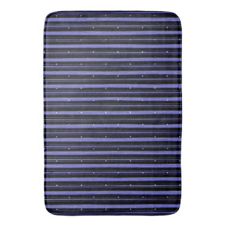 """Circus"" Night-Black-Blue_LG Bath Mat"