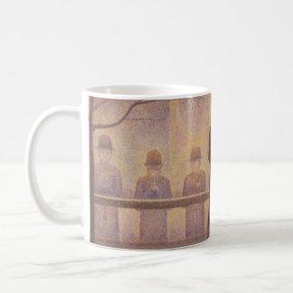 Circus Sideshow by Georges Seurat Coffee Mug