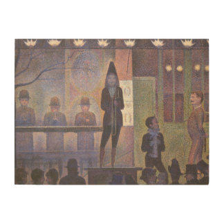 Circus Sideshow by Georges Seurat, Vintage Art