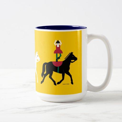 Cirque de Martzkins Horses Mug