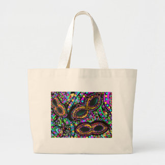Cirque du Art Large Tote Bag