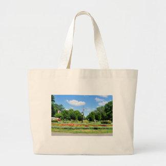 Cismigiu Park in Bucharest, Romania Large Tote Bag