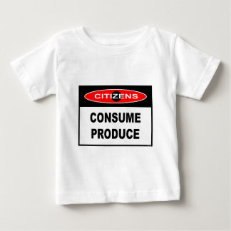 CITIZENS -  CONSUME PRODUCE T-SHIRT