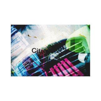 Citroen 2CV Canvas Prints