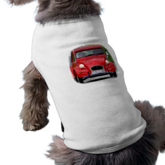 Citroen 2CV duck Sleeveless Dog Shirt