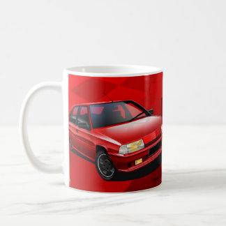 Citroen BX GTI 16V Illustrated Mug