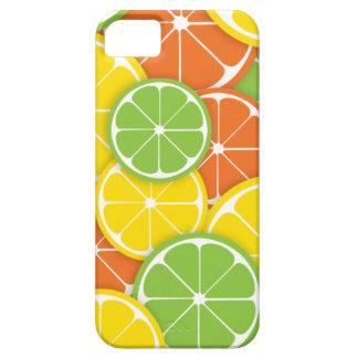 Citrus crush juicy round lemon lime orange slices iPhone 5 case