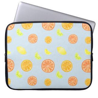 Citrus Slices Laptop Sleeve
