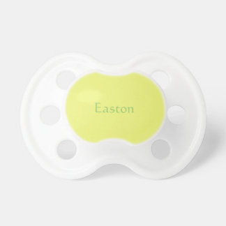 Citrus Yellow Baby Pacifier