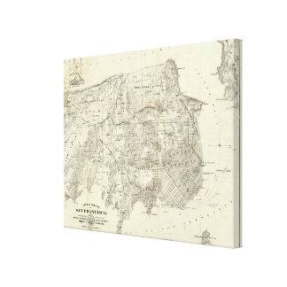 City and County of San Francisco Gallery Wrapped Canvas