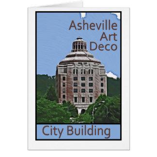 City Building, Asheville Card