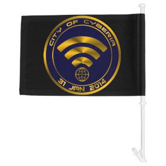City of Cyberia Car Flag