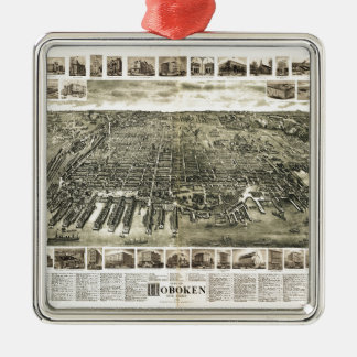 City of Hoboken, New Jersey (1904) Christmas Ornament