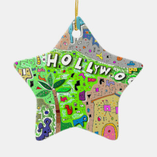 City of Hollywood Hills Christmas Ornament