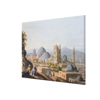 City of Jerusalem, 1812 Canvas Print