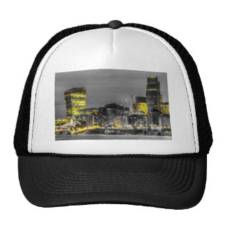 City of London at night Hat