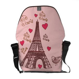 City of Love Paris Commuter Bag