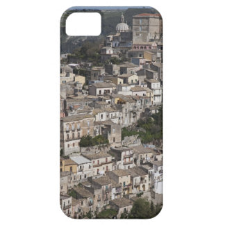 City of old buildings on hillside iPhone 5 cases