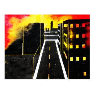 City of Smoke Postcard