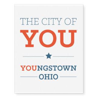 City of You Temporary Tattoos