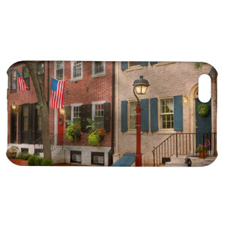 City - PA Philadelphia - American townhouse Case For iPhone 5C