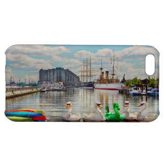 City - Philadelphia, PA - The gathering place Case For iPhone 5C