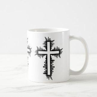 Cityscape Cross Coffee Mug