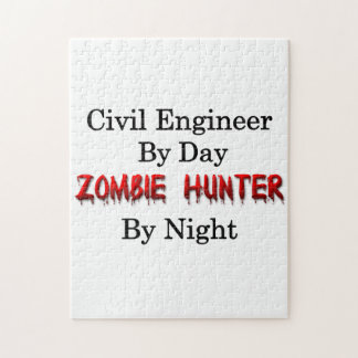 Civil Engineer/Zombie Hunter Jigsaw Puzzle